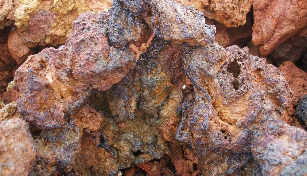 """AQUARIUM LAVA ROCK, FIRE COLOR, 5 Med/Lrg Stones 5""""-7"""" Natural, All Water Types  #AllNatural"""