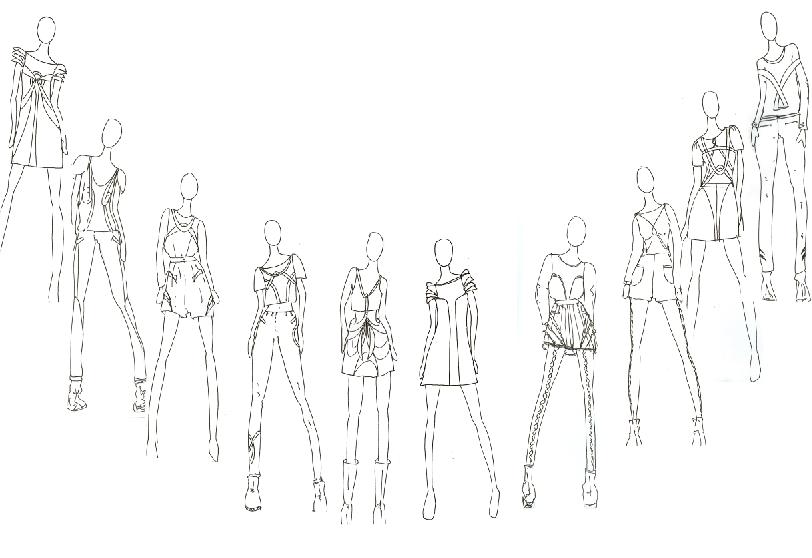 Line up arrangement options | Océano y Ilustraciones