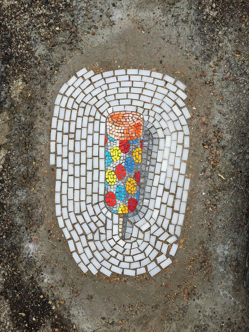 These Potholes Are Getting A Sweet Makeover Art, Chicago