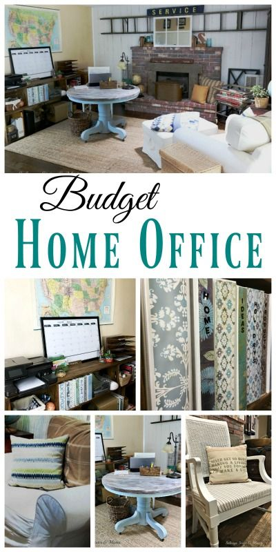 Budget Home Office Reveal