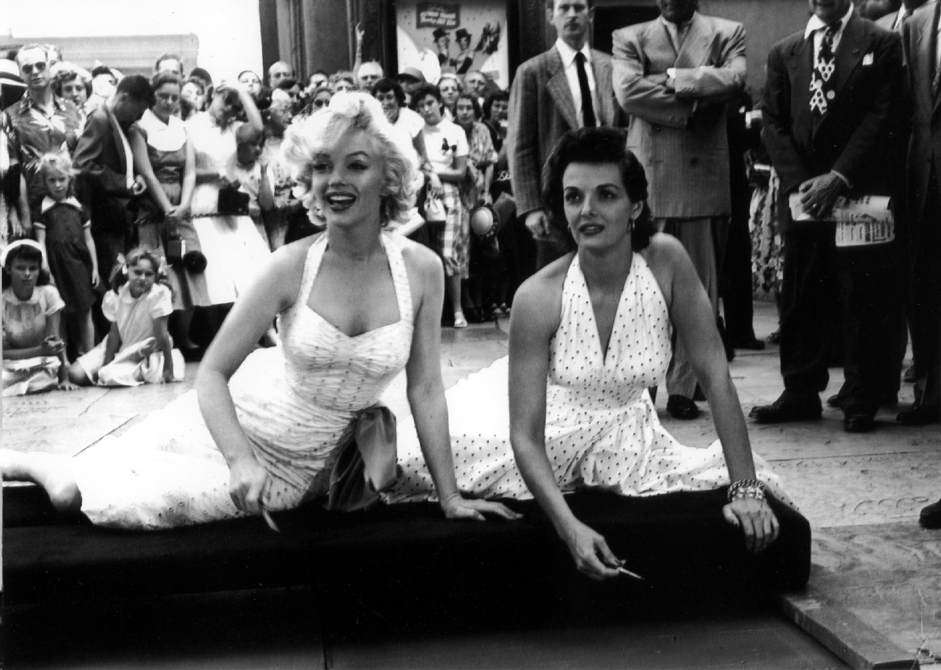 Marilyn monroe jane russell vintage hollywood sex symbols marilyn monroe jane russell biocorpaavc