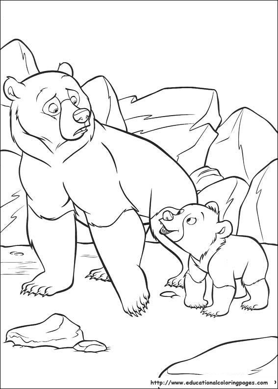 Brother Bear Coloring Pages Educational Fun Kids Coloring Pages And Preschool Skills Workshe Bear Coloring Pages Pokemon Coloring Pages Disney Coloring Pages