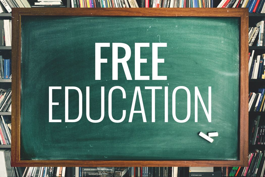 College Courses for free.  No degree but a good way to continue my education
