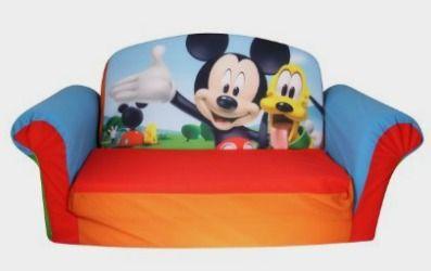 Marshmallow Furniture Flip Open Sofa Mickey Mouse Club House