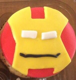 Iron Man cupcake | Superhéroe | Postrería
