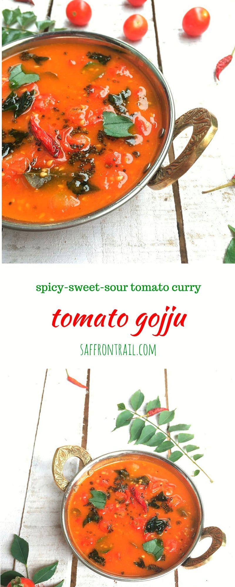 Tomato gojju a curry from karnataka recipe cherry tomatoes tomato gojju a curry from karnataka forumfinder Gallery
