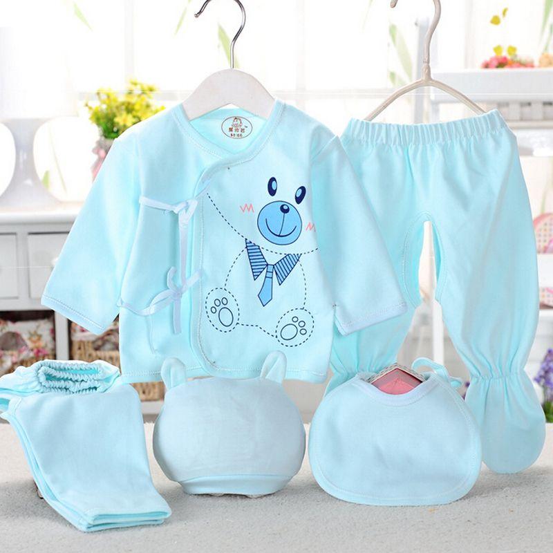 ba401704f01 Click to Buy << Newborn Baby Clothing Set Baby Boy/Girl Clothes 100 ...