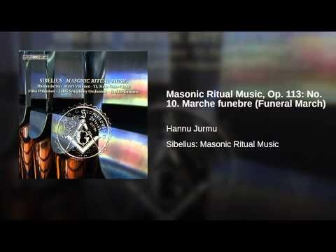 SICILIAN FREEMASONIC)Masonic Ritual Music, Op  113: No  10