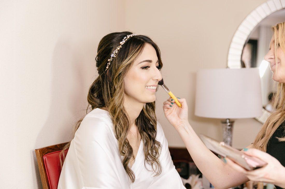 diana & rob wedding;;makeup;;aleksandra ambrozy;;emily wren