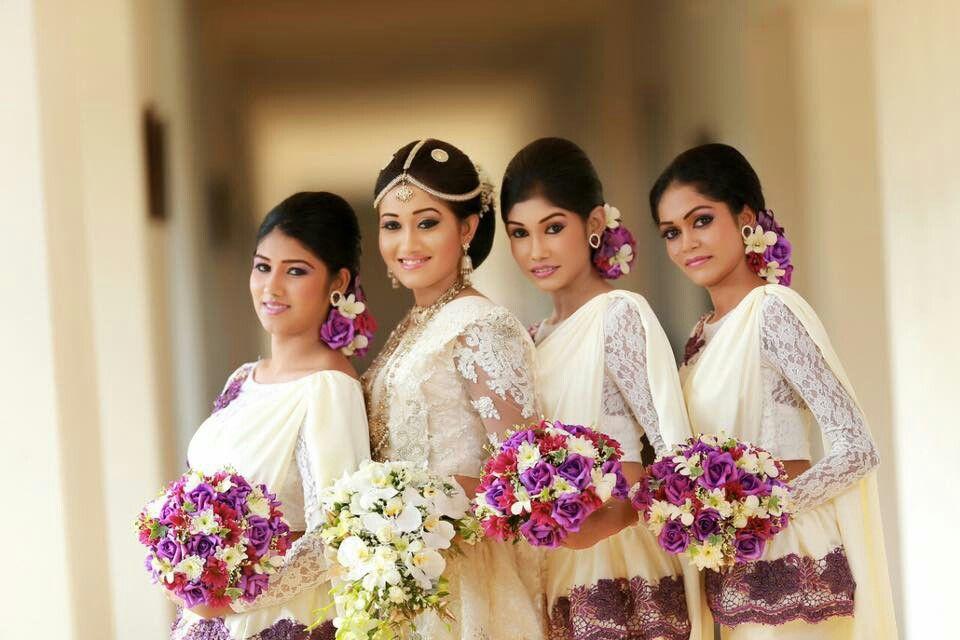 Wedding Hairstyle Kandyan Traditional Kandyan Style Brides