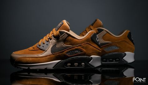 Nike Air Max 90 Prm Ocre Gris | Shoes in 2019 | Nike air max