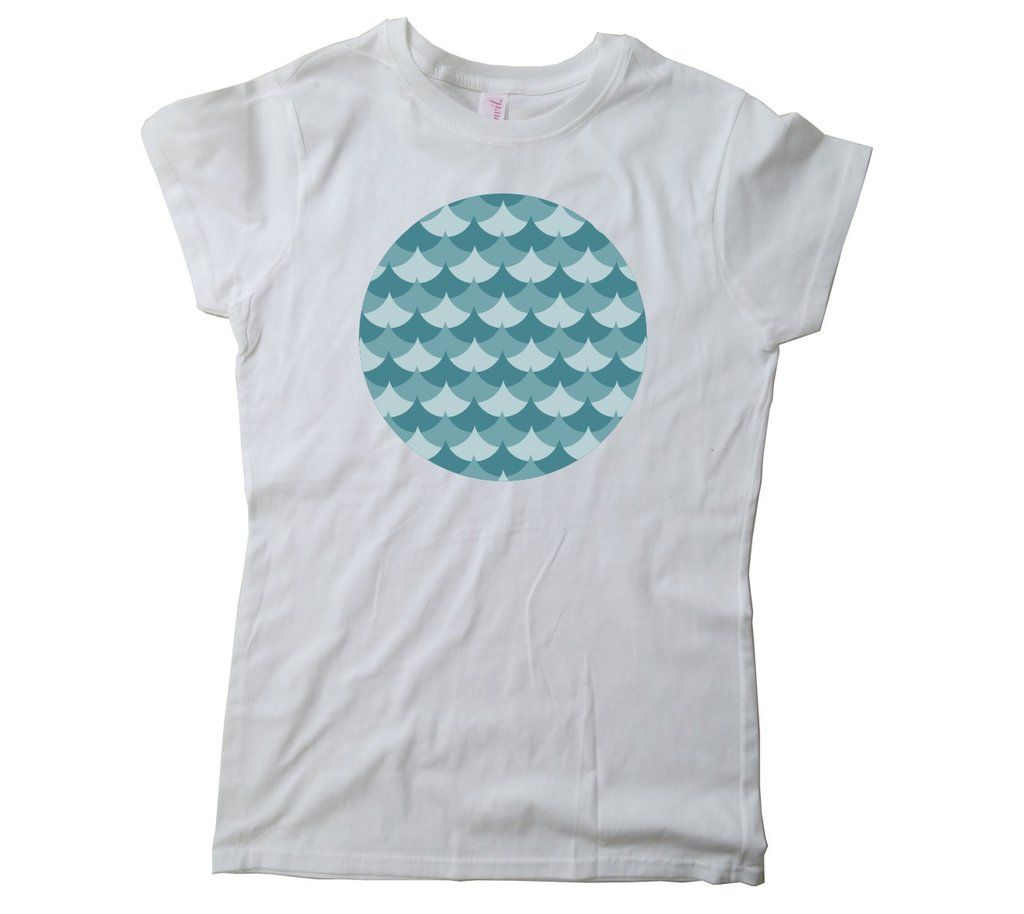 Ladies' Waves Circle T-Shirt