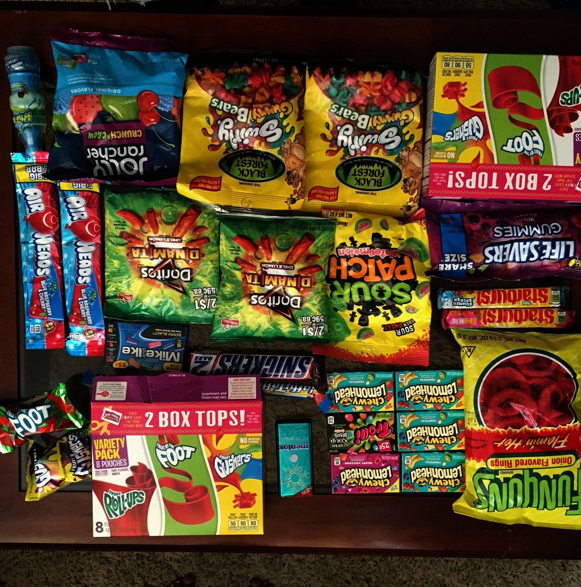 Junk food snacks for road trips despite healthiest snack