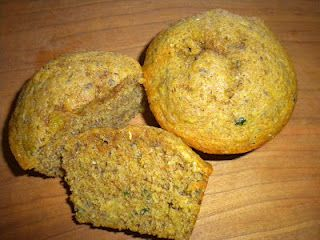 Old fashion zucchini muffins