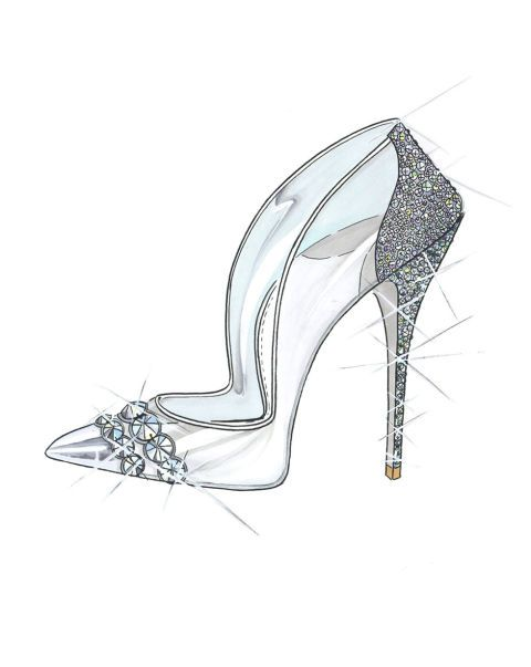 6a40ea6635594c Paul Andrew reimagines Cinderella s glass slipper in celebration of the  forthcoming release of the live action version of Cinderella