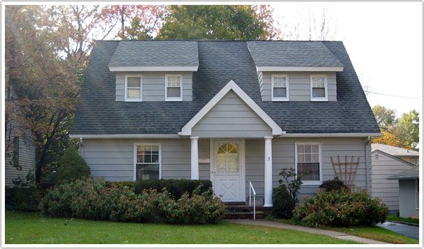 dormers on 1 1 2 story cape cod flat roof garage - Google Search
