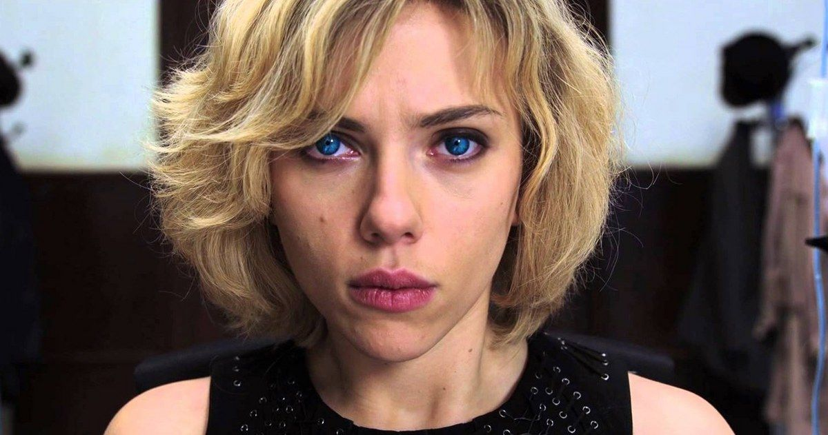 Scarlett Johansson Uses 100% of Her Brain in New 'Lucy' TV Spot -- Scarlett Johansson's 'Lucy' used to be just like the rest of us until they filled her with drugs allowing her full use of her brain in new footage from Luc Besson's thriller. -- http://www.movieweb.com/news/scarlett-johansson-uses-100-of-her-brain-in-new-lucy-tv-spot