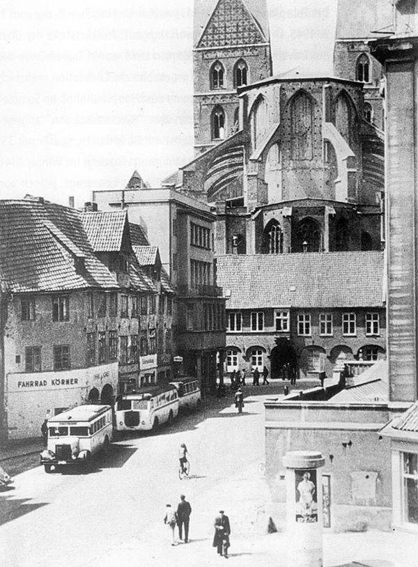 Schrangen Ca 1950 Lubeck Travemunde Lubeck Ostsee