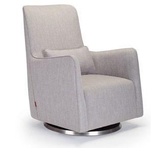 Fine Monte Design Grazia Swivel Glider In Pebble Grey Gzg Evergreenethics Interior Chair Design Evergreenethicsorg