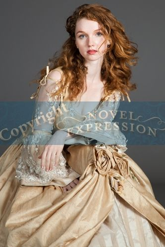 ball Redhead gown in