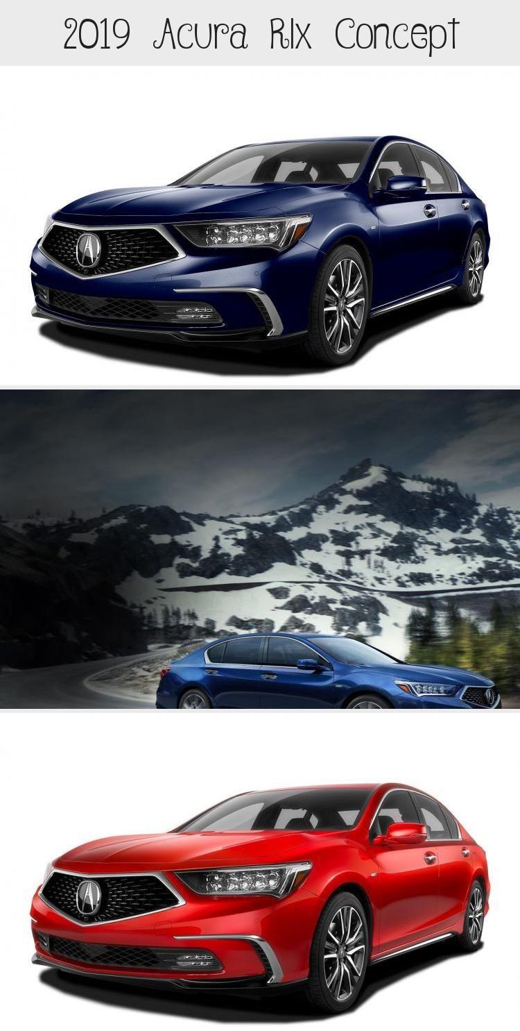 2019 Acura Rlx Concept In 2020 Acura Acura Sedan Acura Tlx