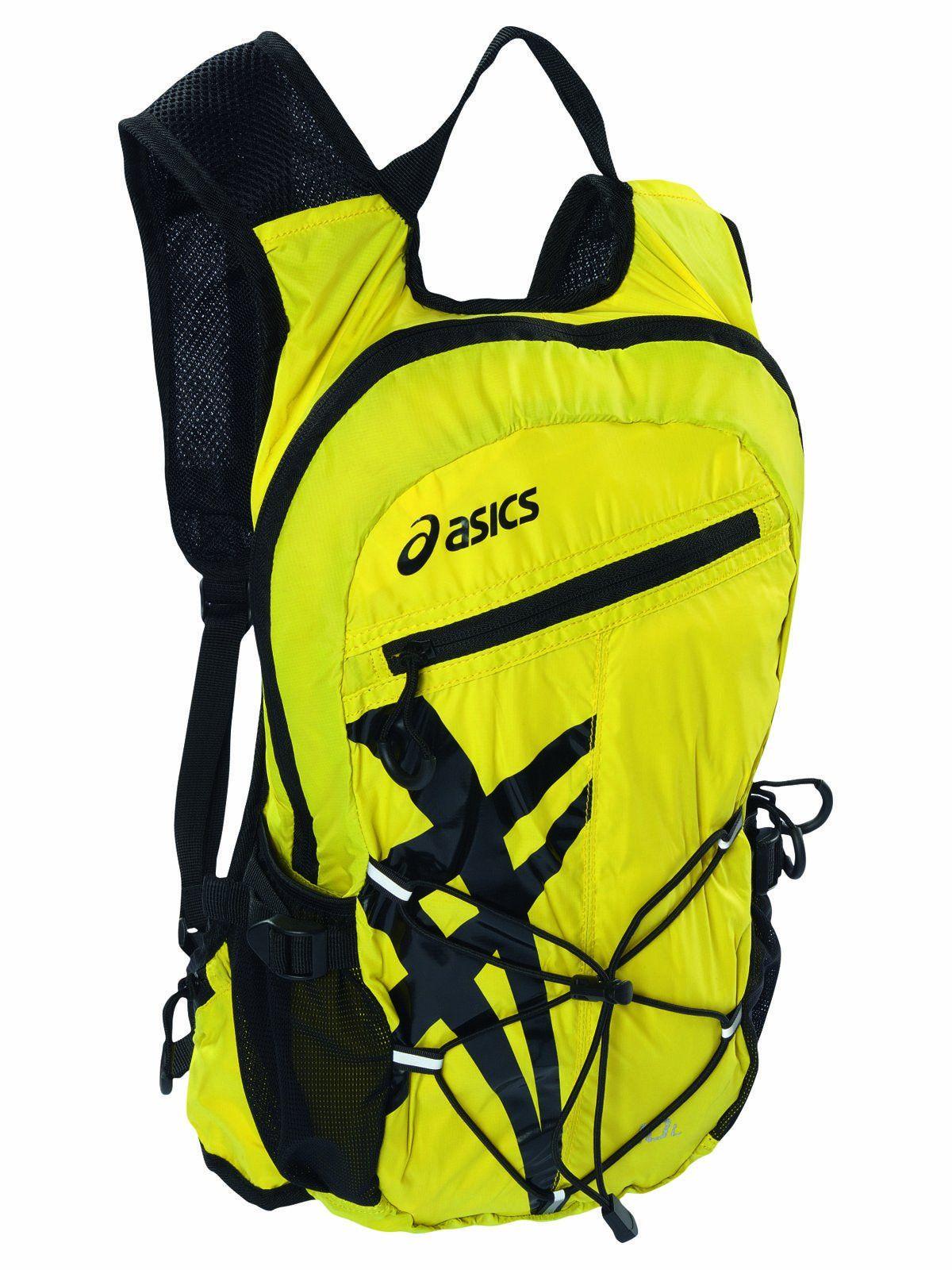 Asics Lightweight Running Backpack Blazing Yellow, One