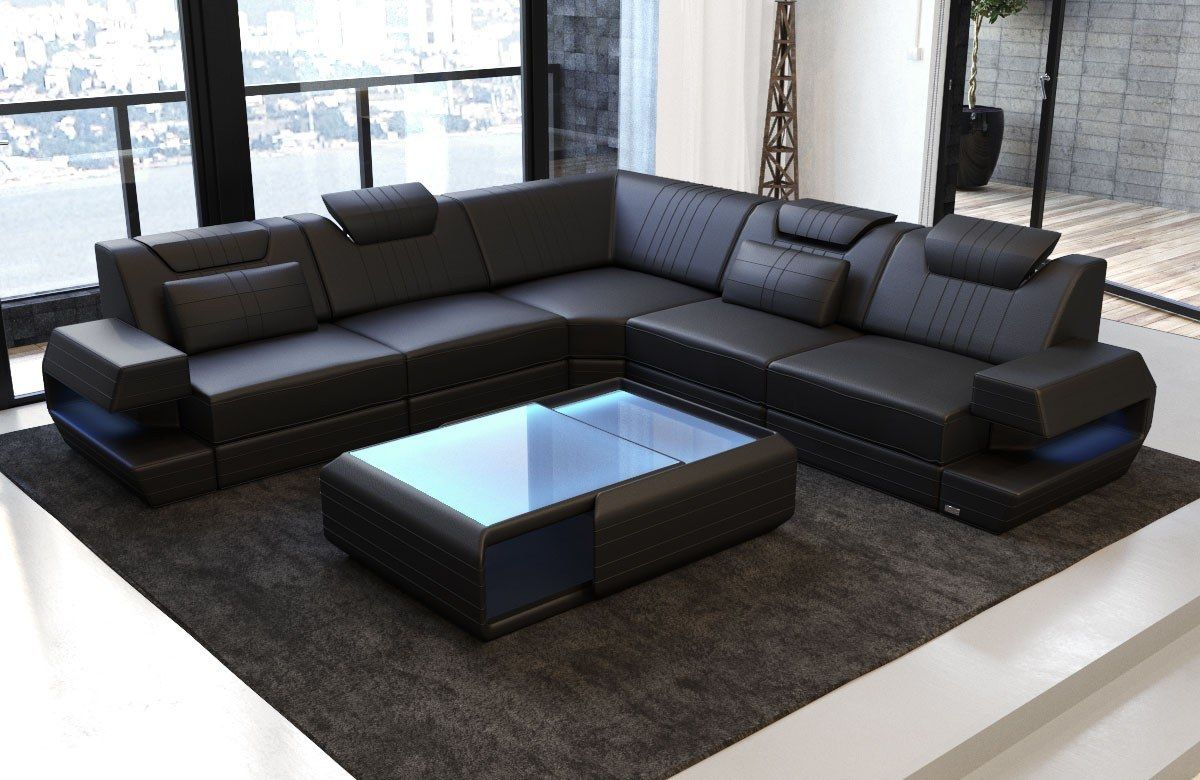 Used Leather Sofa For Sale Ebay En 2020 Con Imagenes Disenos De Unas Living Sala