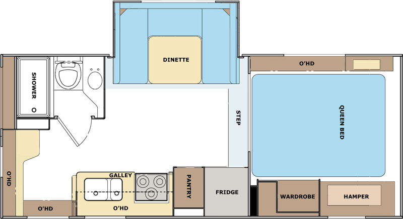 Lance 1191 Floor Plan Truck Camper Camper Travel Trailer