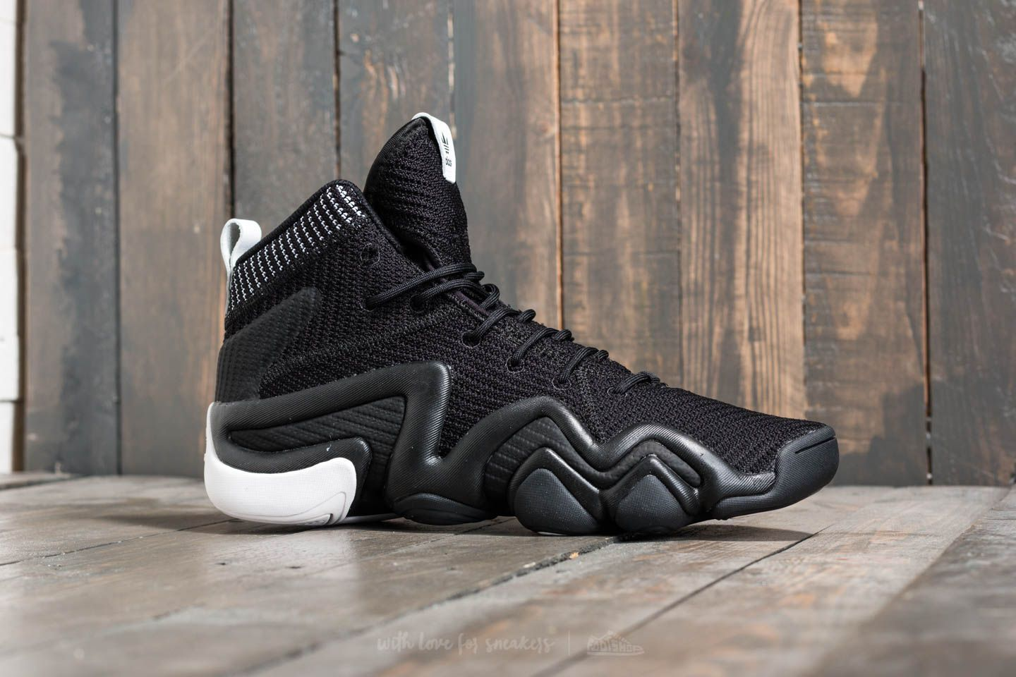 hot sale online 8a617 cbbfe adidas Crazy 8 ADV Primeknit Core Black Core Black FTW White at a great