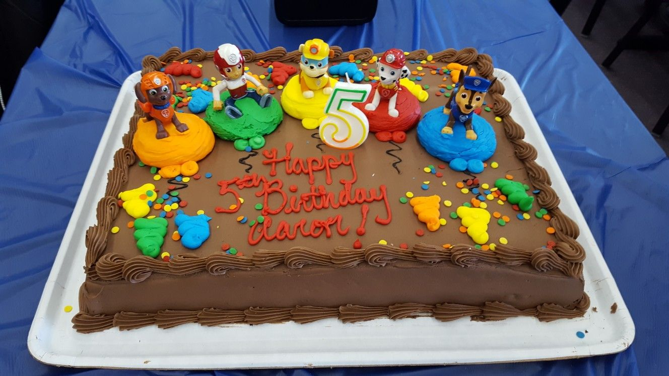 Fine Paw Patrol Costco Cake With Images Costco Birthday Cakes Personalised Birthday Cards Veneteletsinfo