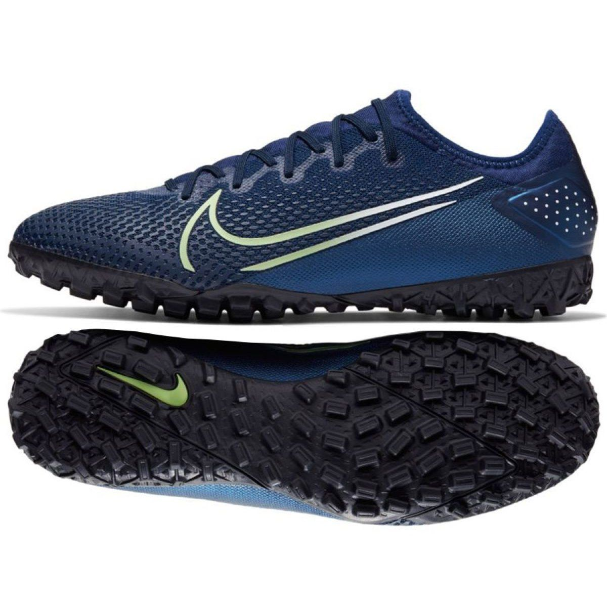 Buty Pilkarskie Nike Mercurial Vapor 13 Pro Mds Tf M Cj1307 401 Granatowe Wielokolorowe Football Shoes Nike Nike Soccer Shoes