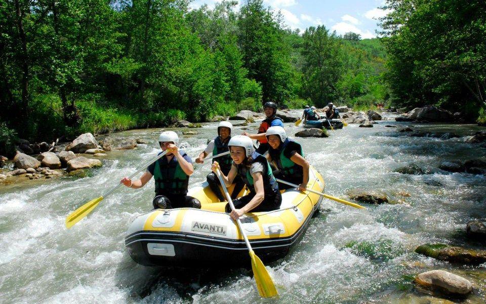 rafting sull'Aventino