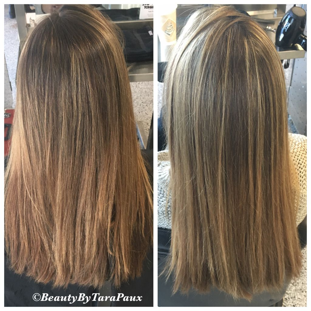 Before And After Tsection Highlights And Toner Highlights