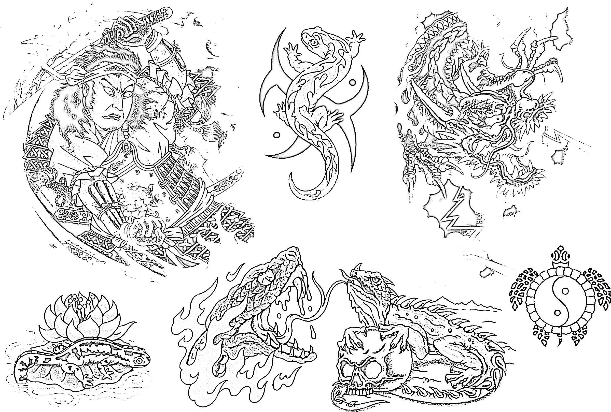 Free tattoo flash sheets free tattoo designs free