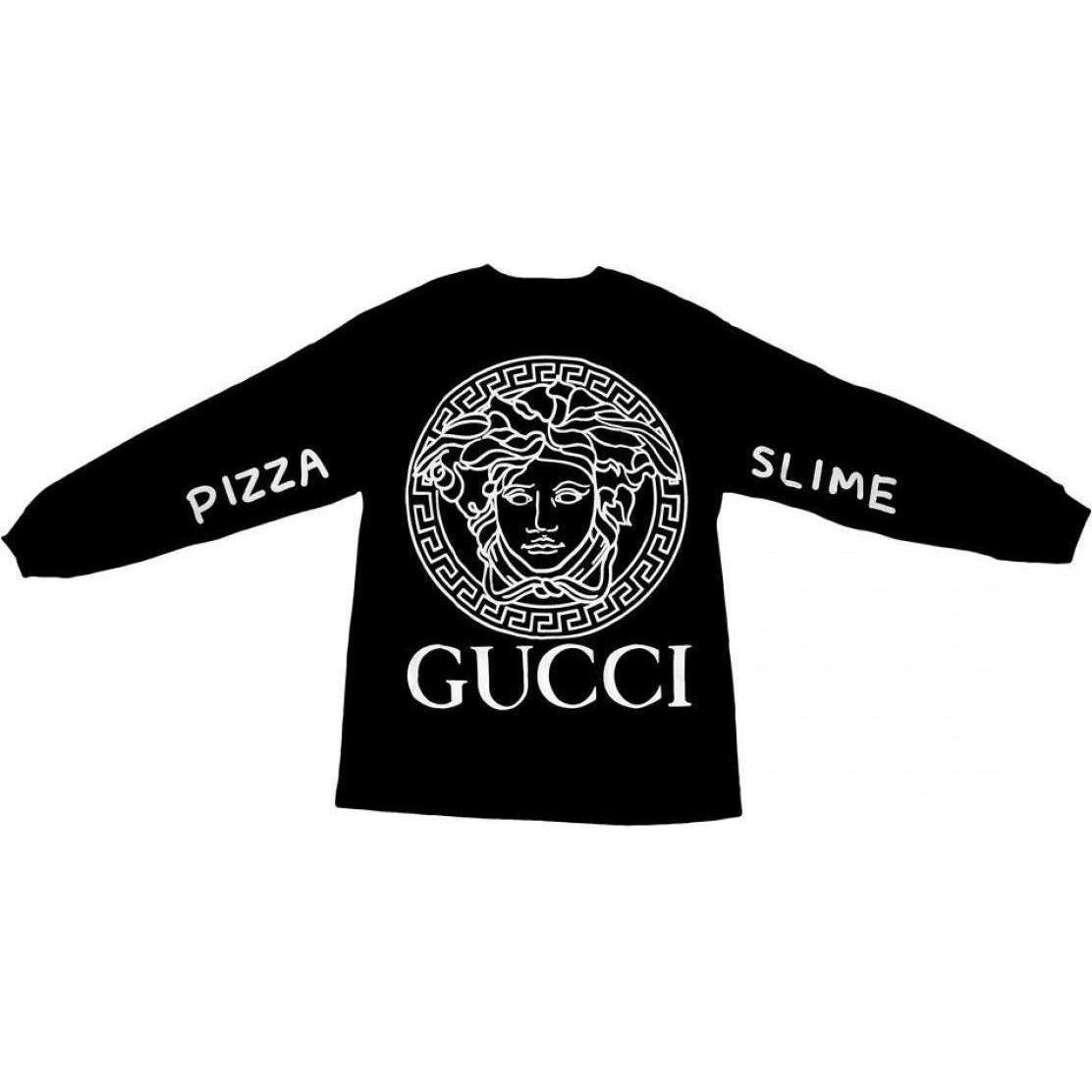 PIZZA SLIME VERSACE GUCCI LOUIS VUITTON CHANEL SHIRT AS SEEN ON ...