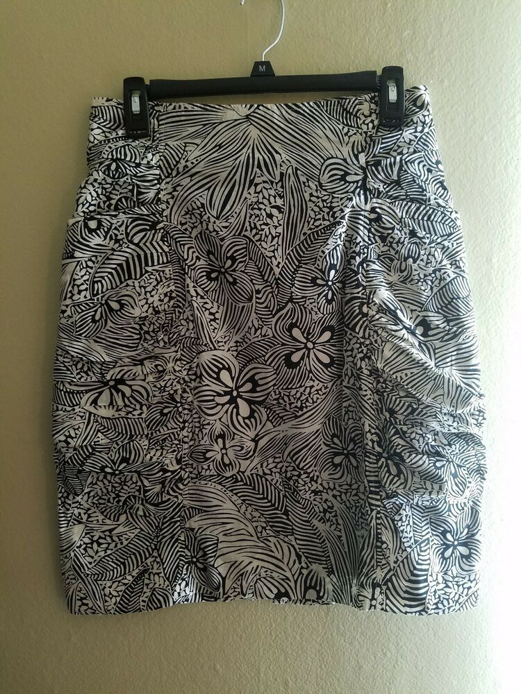 44d17c988a womens skirt black and white forever medium/large #fashion #clothing #shoes  #
