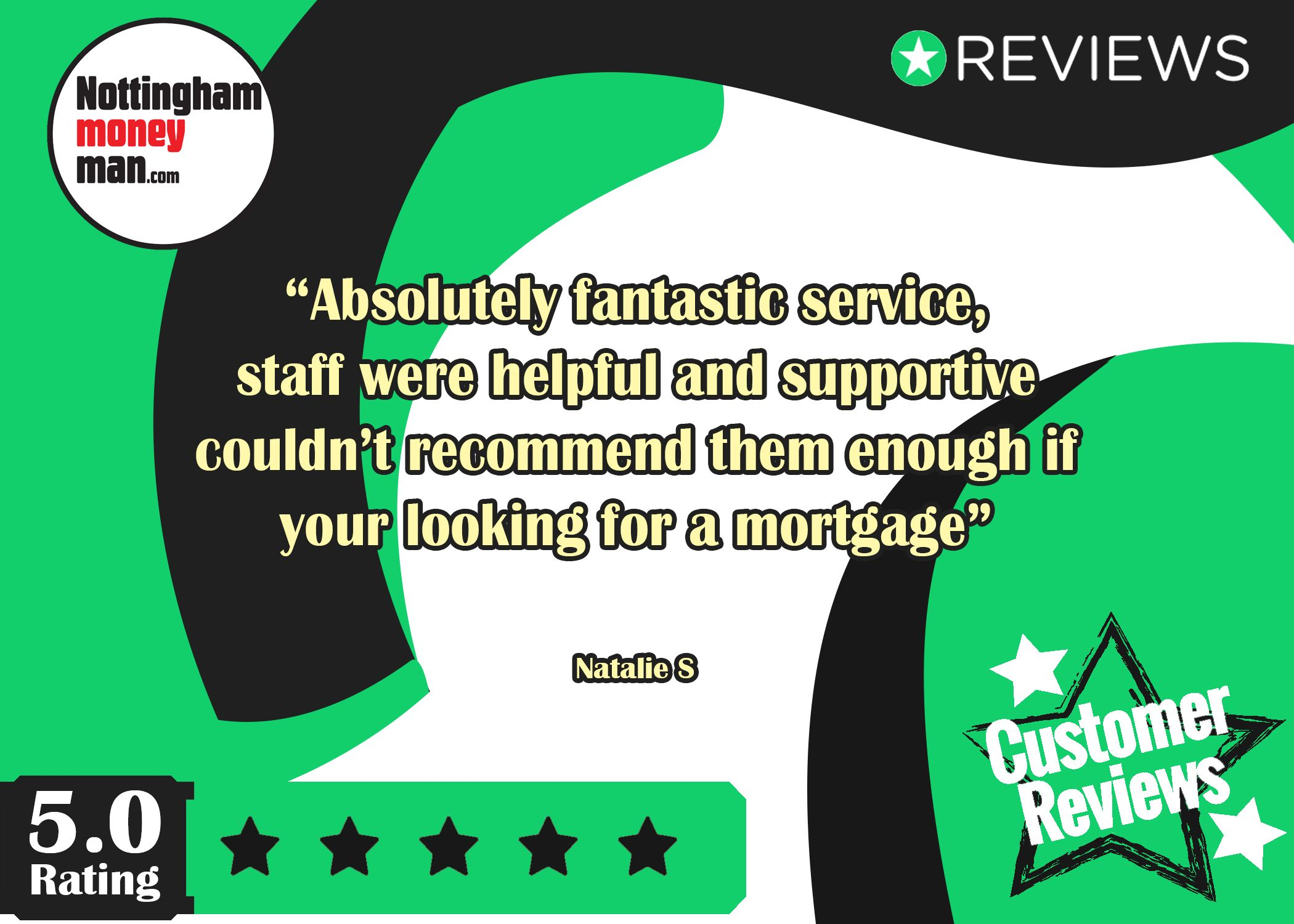 We love reading our reviews! MortgageAdvice 5StarService