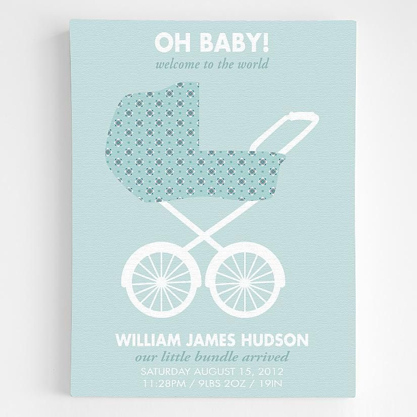 Personalized stroller announcement wall art personalized baby personalized stroller announcement wall art personalized baby gifts redenvelope negle Choice Image