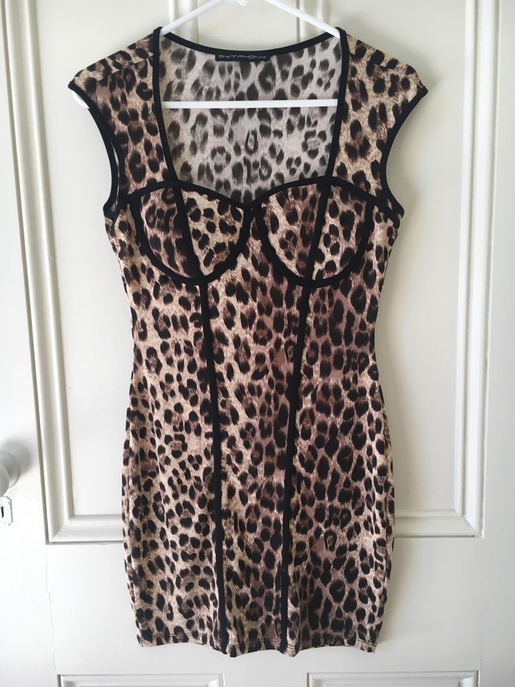 e21303feb349 Womens Symphony Leopard Print Dress (L) #fashion #clothing #shoes # accessories #womensclothing #dresses (ebay link)