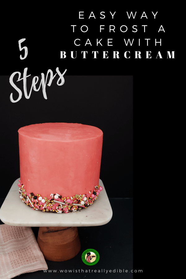How To Frost A Cake With Sharp Edges Using Buttercream Wow Is That Really Edible Custom Cakes Cake Decorating Tutorials In 2020 Chocolate Ganache Drip Cake Cake Decorating Piping Crumb