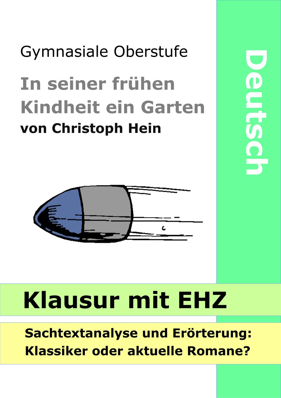 Christoph Hein Aufgabenstellung Erorterung Deutsch Unterricht