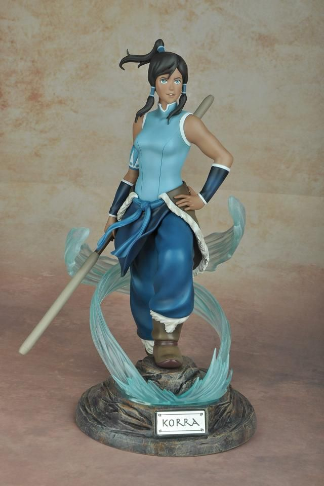 LEGEND OF KORRA Chief Lin Beifong Collector Figure Statue Limited Color Edition
