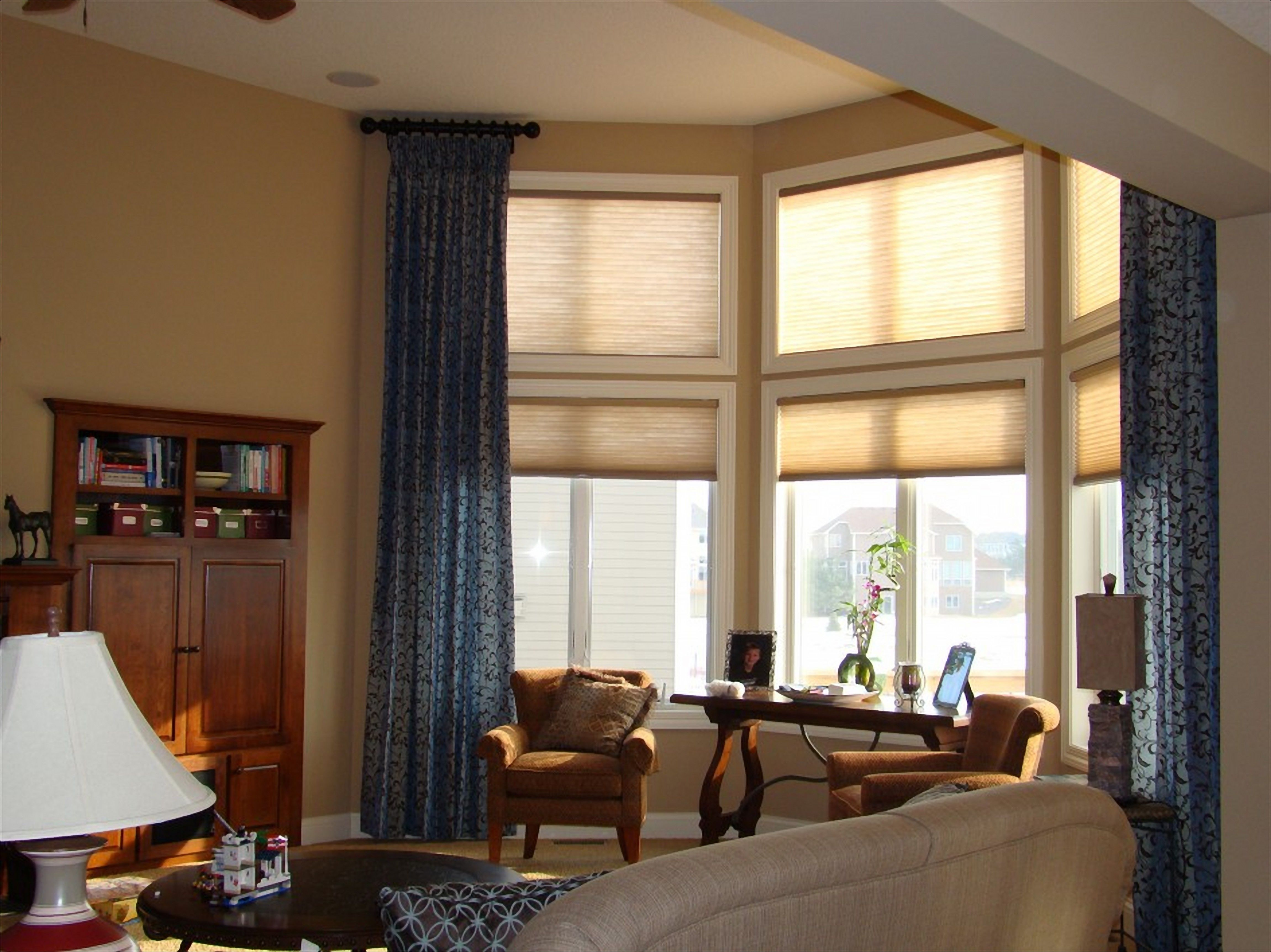 Curtain Ideas For Large Living Room Windows Window Treatm