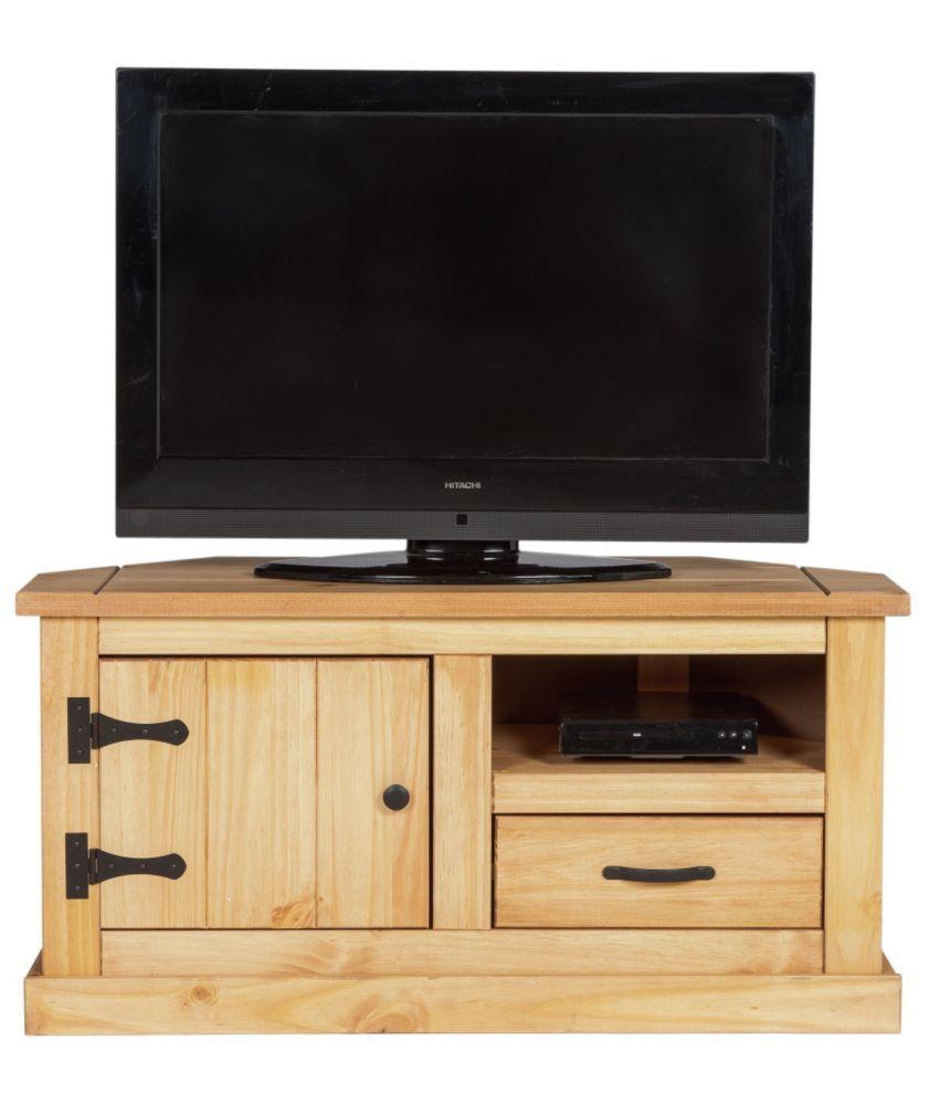 Buy San Diego 1 Drawer Corner TV Unit   Solid Pine At Argos.co.