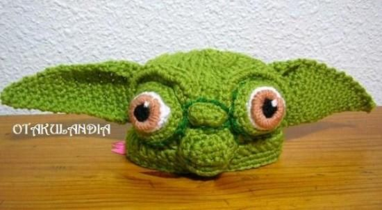 Gorro Yoda - modelo exclusivo de otakulandia, realizado a mano en ...