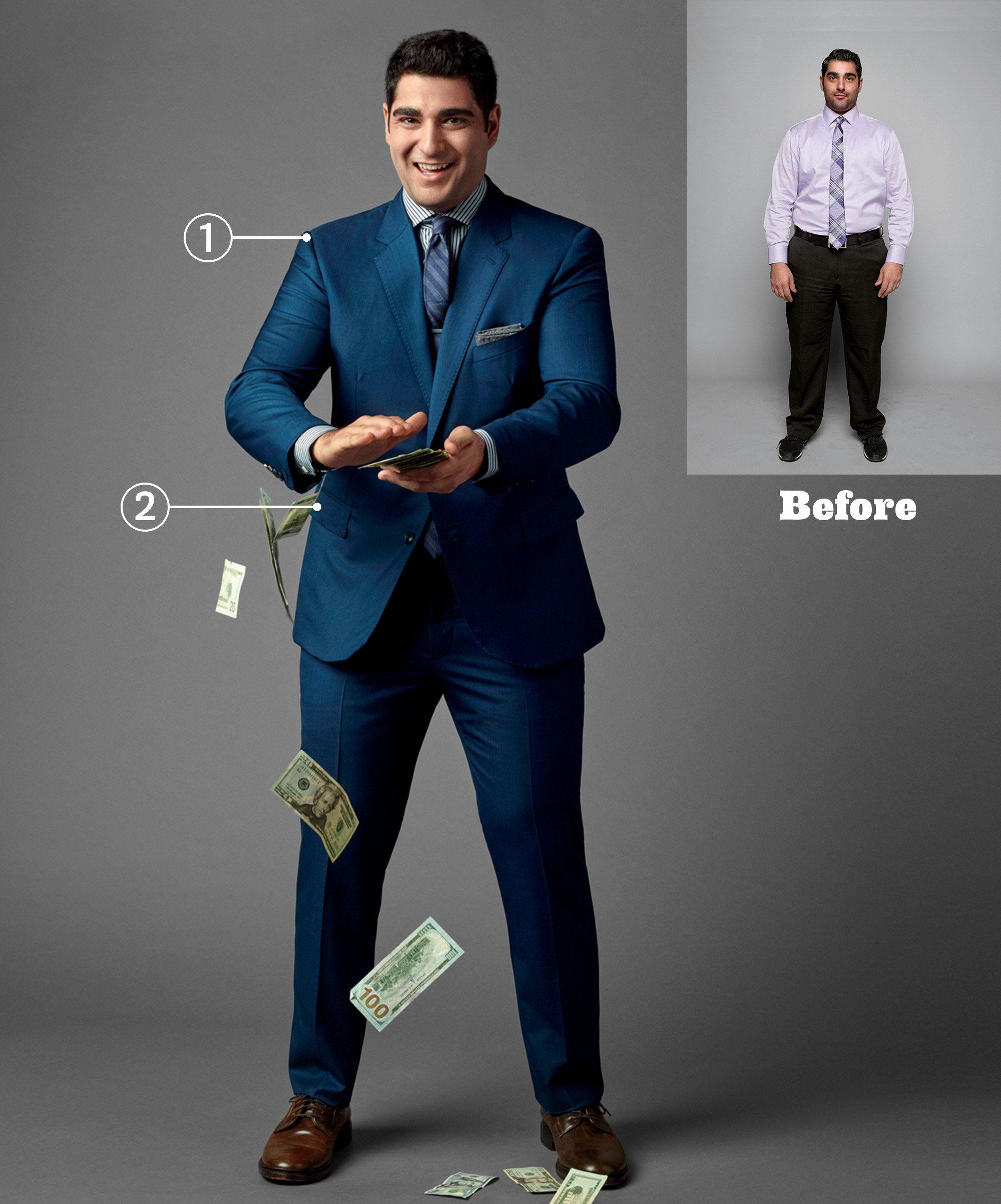 The Best Suit If You Ve Got Ski Slope Shoulders Big Men Fashion Cool Suits Suits Men Business