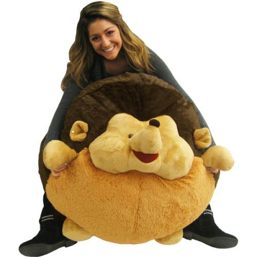 Massive Squishable Hedgehog   A Giant Plush Beanbag Chair For Charity