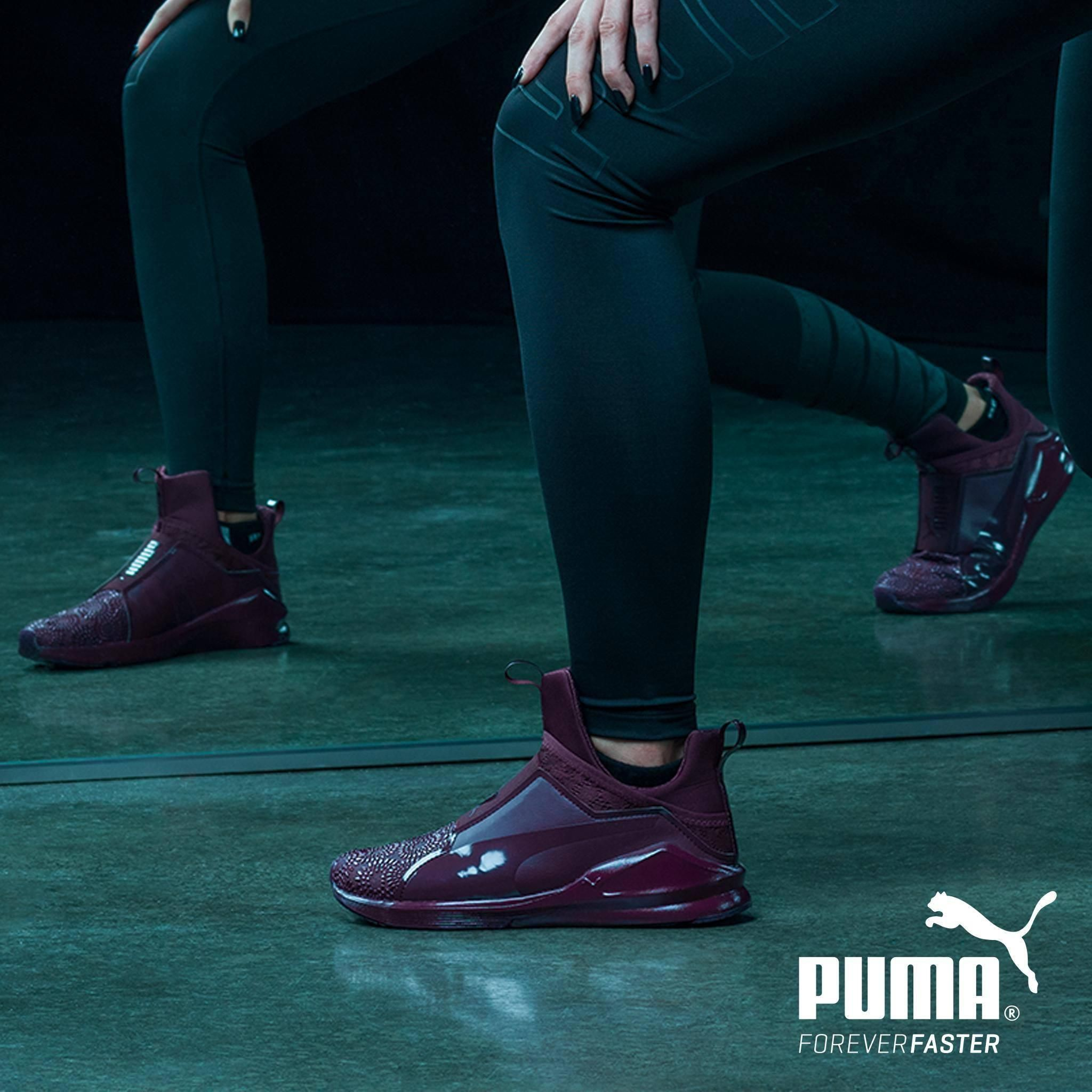 Womens training shoes, Puma outfit