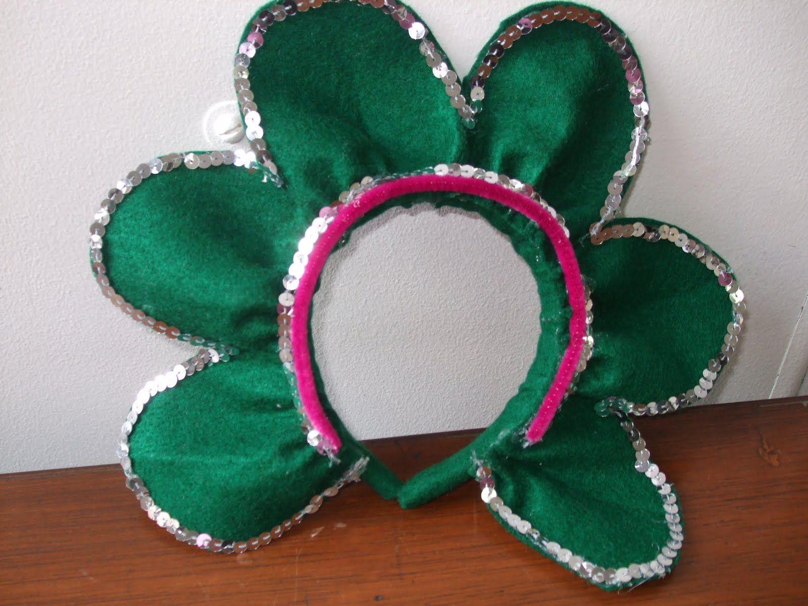 buena idea para preparar el disfraz de mi nia para su festival de la primavera