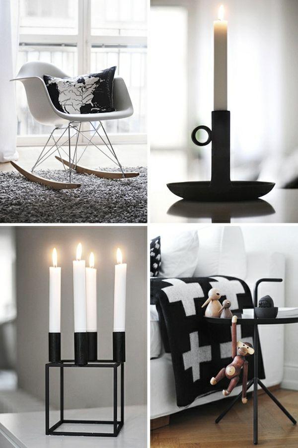 Skandinavische Deko Mit Kerzen